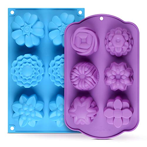 Silicone Soap Molds Assorted Handmade product image
