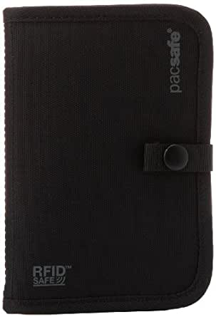 Pacsafe Luggage Rfid-Tec 75 Passport Holder, Black, Small
