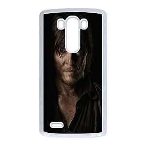LG G3 Cell Phone Case White_The Walking Dead Norman Reedus Yduiz