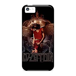 Shock-Absorbing Cell-phone Hard Cover For Iphone 5c (Kst17260GMvt) Customized High-definition Led Zeppelin Image