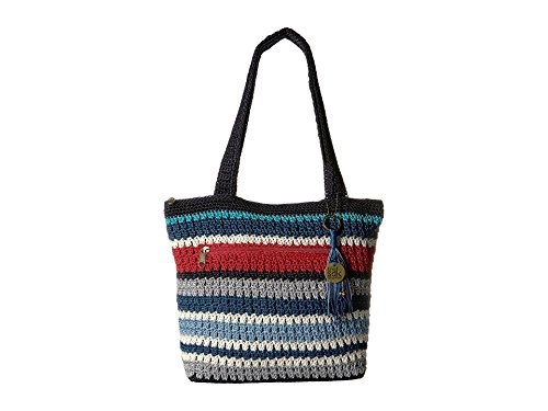 - The Sak Women's Amberly Tote Marina Stripe One Size