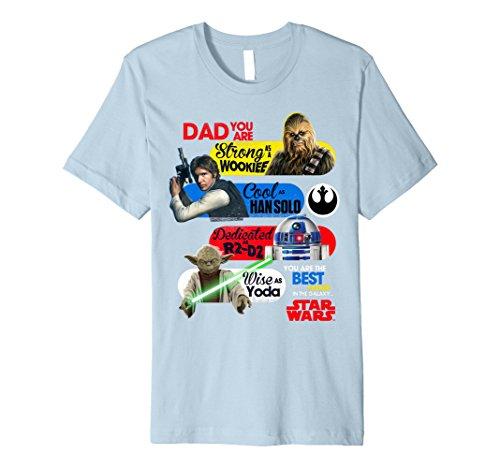 Star Wars Best Dad In The Galaxy Premium T-Shirt (Best Dad In The Galaxy Shirt)