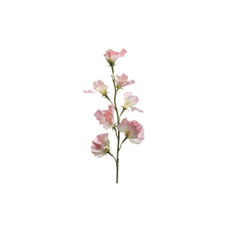 """silk flower arrangements 22"""" sweet pea spray pink (pack of 12)"""