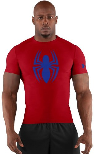 Under Armour Mens Alter Ego Compression Short Sleeve - Under Armour Shirts Spiderman