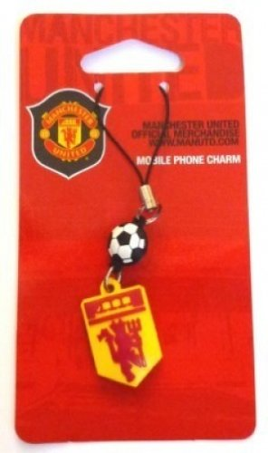 Manchester United Football Club Official SoccerギフトRed Devil電話チャーム B0017UVI6M