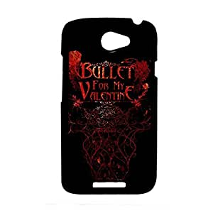 Love Back Phone Cover For Teen Girls Custom Design With Bullet For My Valentine For Htc Ones Choose Design 1