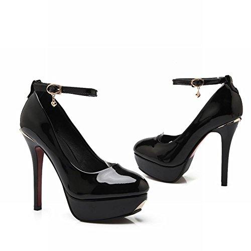 MissSaSa Escarpins Noir Sexy Femmes Plateformes gxr8qgPw