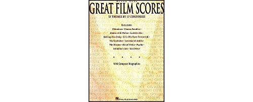 Hal Leonard Great Film Scores arranged for piano solo Jurassic Park Composer