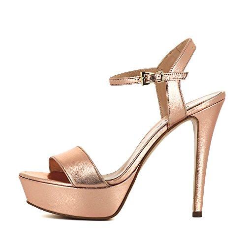 Shoes Sandales Femme Vieux Cuir Lisse Rose 41 Evita Stefania qSdaZE