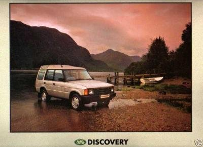 1991 LAND-ROVER DISCOVERY COLOR SALES BROCHURE (GB) - HUGE !! EXCELLENT !! ()