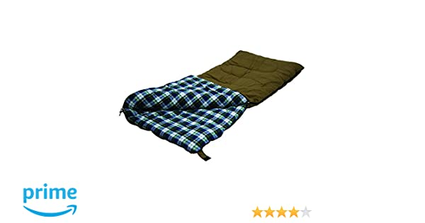 Amazon.com : Stansport White Tail 5 Lb. Rectangular Sleeping Bag, 78