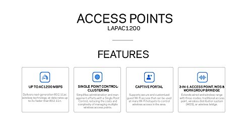 Linksys Business LAPAC1200 Access Point Wireless Wi-Fi Dual Band 2.4 + 5GHz AC1200 with PoE by Linksys (Image #4)