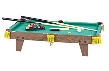 LARGE TABLETOP POOL TABLE Amazoncouk Toys Games - El pool table