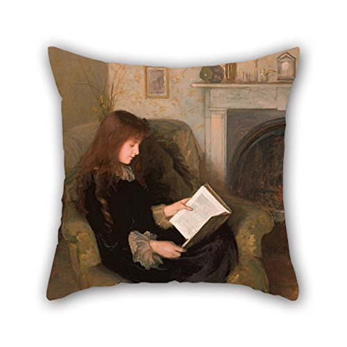 beeyoo Pillow Cases 20 X 20 inches / 50 by 50 cm(Double Sides) Nice Choice for Boy Friend Living Room Bedding Chair Home Club Oil Painting Florence Fuller - Inseparables