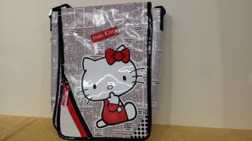 BORSA TRACOLLA HELLO KITTY NEWSPAPER