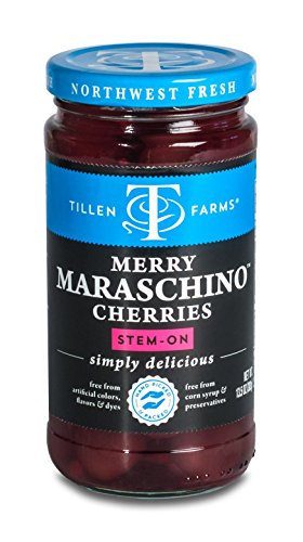 (Tillen Farms Maraschino Cherries, 13.5 oz.)