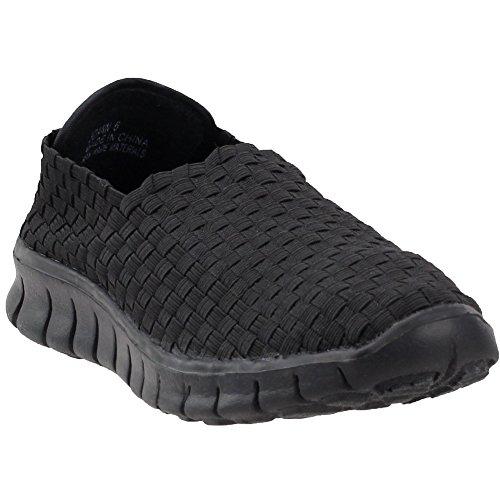 Womens Joann Slip On Casual Fashion Corkys Black Sneakers HdwqFH