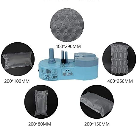 Blue Air Bubble Wrap Making Machine//Protective Packaging air Buffer Cushion Machine