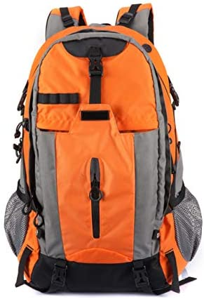ELLINDO Waterproof Hiking Backpack Daypack 50L Travel Backpack with Rain Cover