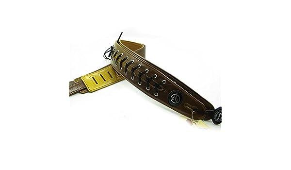 Correa de la guitarra eléctrica OxGrowTM Vorson/la correa de la guitarra/bajo eléctrico de la correa de la/16xd244 de color amarillo: Amazon.es: ...