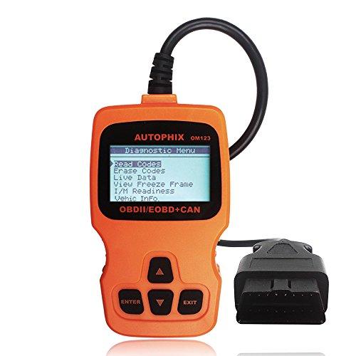 Autophix OM123 Code Reader OBD2 Diagnostic Scanner Tool - Car Diagnostic Scanner Dodge