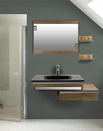 Bodovit Modern Badset Badmobel Badezimmermobel Waschbecken Spiegel
