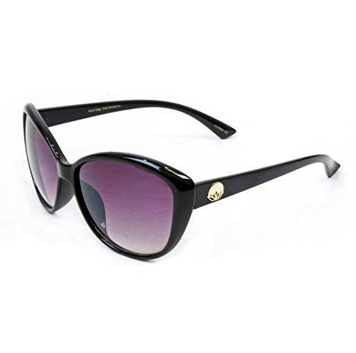 Big Buddha Women's Lotus Oversized Sunglasses, - Lotus Sunglasses