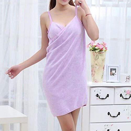 Hummla Toalla Textil para el hogar Batas de baño Vestido de Toalla ...