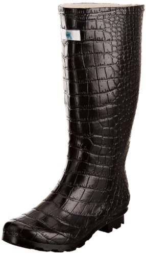 Welly Splash Bottes Femme 6 v Snappy By Noir Miss Wedge Wide 14Ap64n