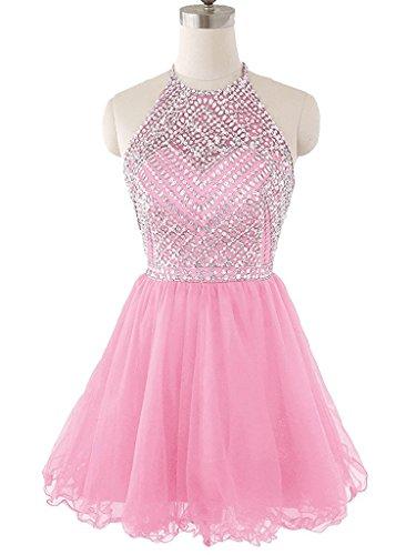 Ysmo - Vestido - Noche - para mujer rosa rosa 46