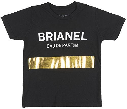 Price comparison product image BLTEEKIDS Brianel Eau De Parfum Unisex Kids Tee in Black