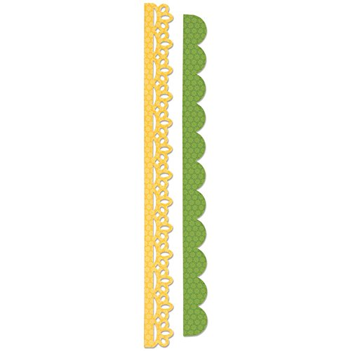 Sizzix Sizzlits Decorative Strip Die Eyelet Lace and Scallops by Doodlebug Design (Border Eyelet Lace)