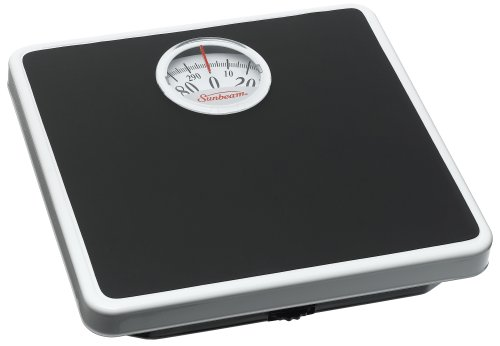 Sunbeam Easy Read Dial Scale, (Compact Analog Scale)