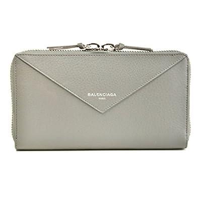 9cb66b4e5f16 BALENCIAGA(バレンシアガ) ペーパー PAPER 財布 レディース ラウンドファスナー長財布 381226 DLQ0N 1215 [