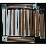 """12 sizes BrilliantKnitting (BR brand) 10"""" double pointed (DP) bamboo knitting needles US 0-10.5. total 60 needles"""