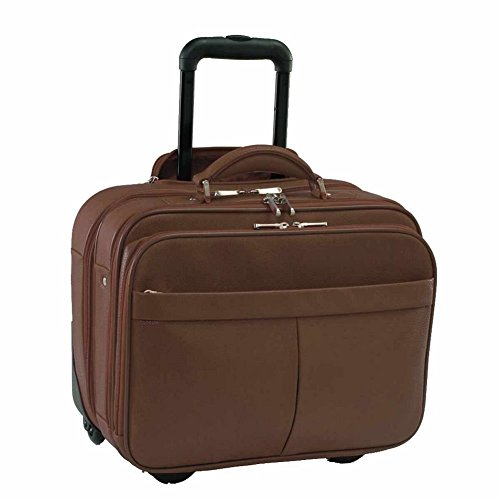 Royce Leather Ultimate ComputerCommuter Travel Case - Chocolate Royce Leather Leather Computer Case