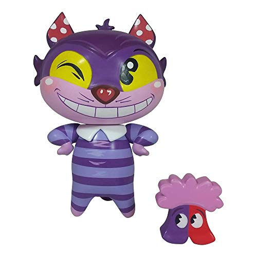 Enesco World of Miss Mindy Presents Disney Designer Collection Cheshire Cat Vinyl Figurine, 7