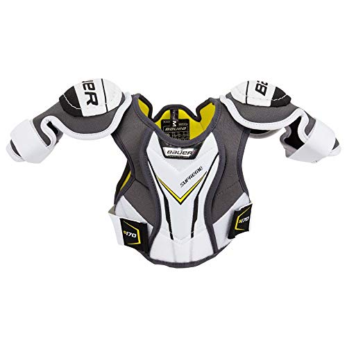 Bauer Supreme S170 Hockey Shoulder Pads (YTH L)