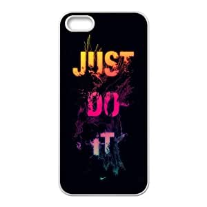 NIKE JUST DO IT S-T-R1037541 Iphone 5,5S Phone Back Case Use Your Own Photo Art Print Design Hard Shell Protection