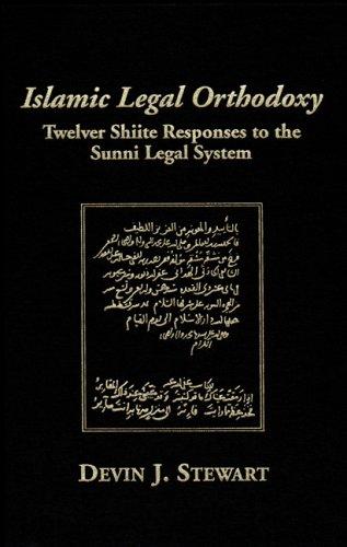 Islamic Legal Orthodoxy