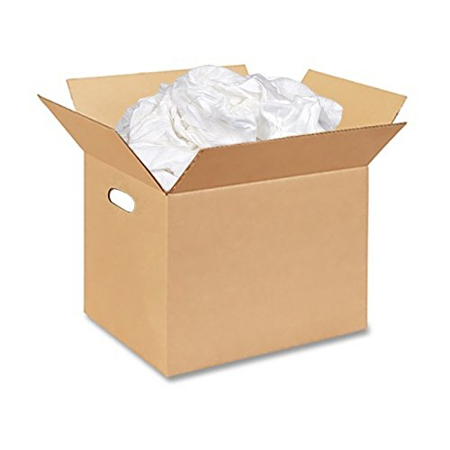 Box of White Cloth Wiper Rags 50lb by Anchor Wiping Cloth (Image #1)