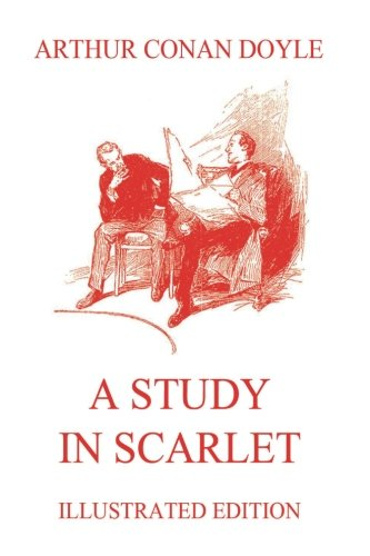 Book cover for A Study in Scarlet