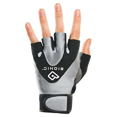 Bionic Women's StableGrip 1/2 Finger Fitness Gloves
