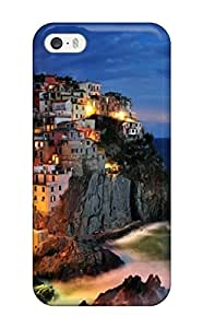 Premium [MQEIygS8RgAMy]attractive Manarola Italy Coast Case For Iphone 5/5s- Eco-friendly Packaging(3D PC Soft Case) hjbrhga1544