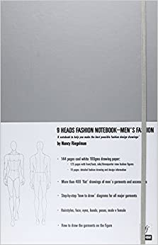 Book 9 Heads Fashion Notebook: Men's Fashion (9 Heads Notebooks)
