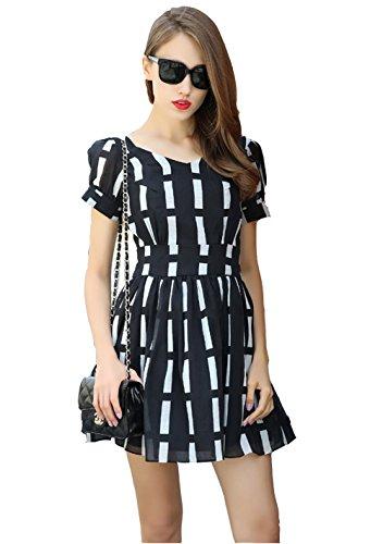 Puff Sleeve Dress - 9