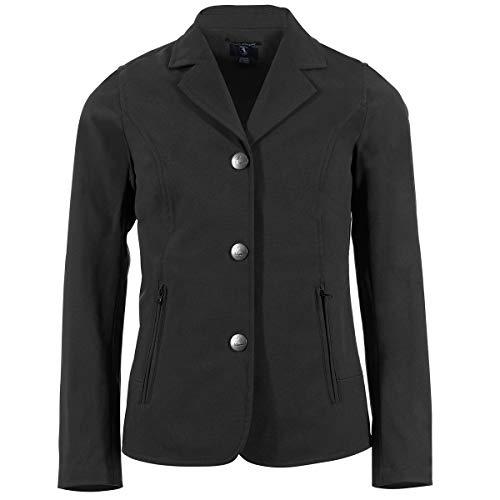 Horze Kids Adele Softshell Show Coat MD Black