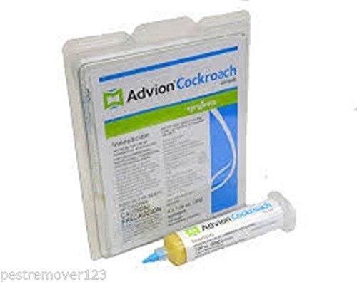 Advion Cockroach Gel Bait 1 Tube, 1 plunger, 1 Tip, Roach Co