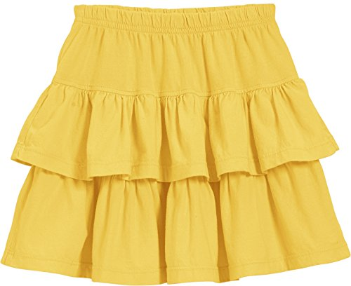 Yellow Tiered Skirt - 2