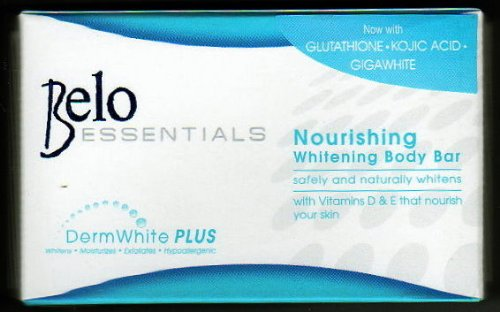 Belo Essentials Nourrissant Corps Savon blanchiment w / Kojie Acid & glutathion